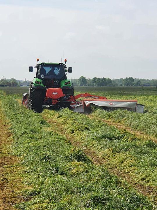 Versterking in de polder.... Deze